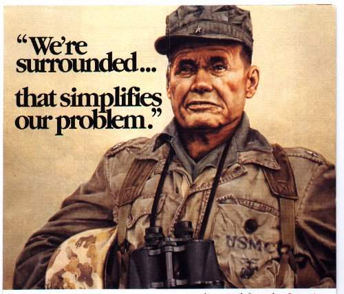Chesty Puller - Telling you how Marines like it.