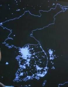 South Korea - North Korea's Night Light